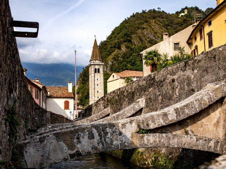 Vista di Sant'Augusta da Serravalle